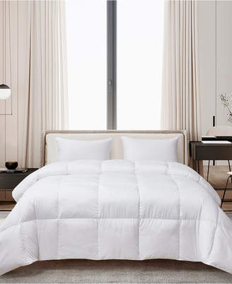 Cannon Ultra-Soft Nano-Touch Extra Warmth White Down Fiber Comforter, Full/Queen