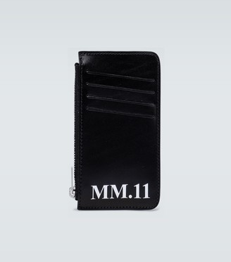 Maison Margiela Zipped leather wallet