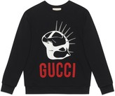 Gucci Manifesto oversize sweatshirt