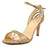 Les Trois Garçons Vernice Open-toe Patent Leather Heels.