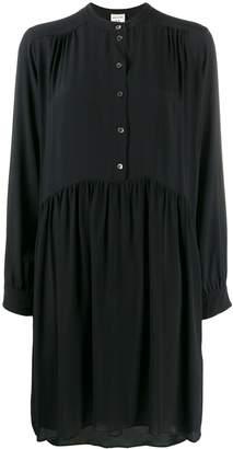 Semi-Couture Semicouture ruched midi shirt dress