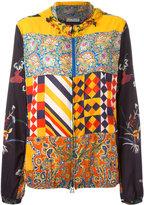 Pierre Louis Mascia Pierre-Louis Mascia - printed hooded jacket - women - Nylon - S