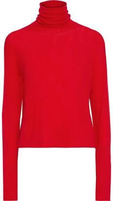 Altuzarra Crystal-trimmed Merino Wool Turtleneck Sweater