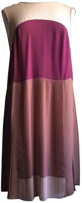 Prada Camel Silk Dresses