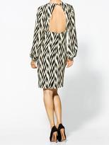 Winter Kate Silk Herringbone Dress
