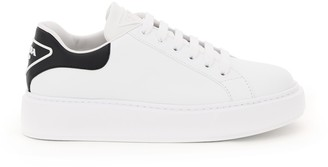 Prada 045 Leather Sneakers