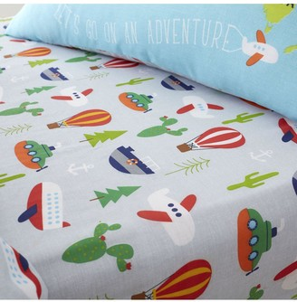 Catherine Lansfield Animal Adventures Single Fitted Sheet