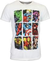 Marvel Mens' Comics T-shirt Xlarge
