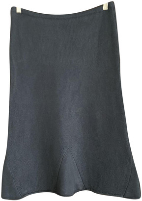 Colombo Anthracite Cashmere Skirts