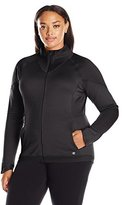 Champion Women's Plus Size Tech Fleece Full Zip Jacket