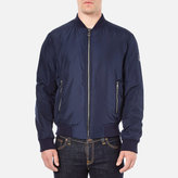 Versace Men's Bomber Jacket Blue