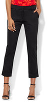 New York & Co. 7th Avenue Design Studio Pant - Signature - Universal Fit - Cuffed Crop - Solid