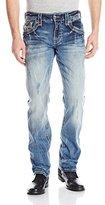Rock Revival Men's Kash J2 Straight Fit Jean