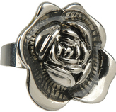 Grooved Flower Ring