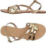 Pieces Toe strap sandals