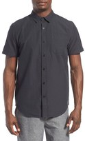 Tavik Men's 'Maison' Short Sleeve Stripe Woven Shirt