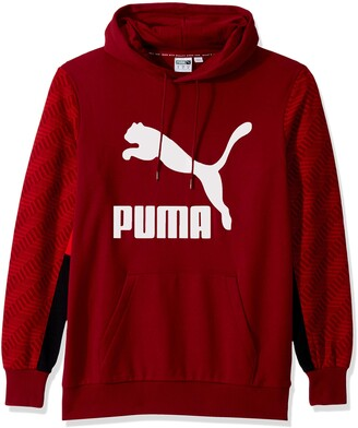 Puma Men's Classics Graphic Hoody All Over Print