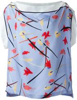 Emilio Pucci printed silk blouse - women - Silk - 42