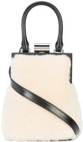 Perrin Paris fur detail satchel
