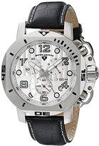 Swiss Legend Men's 10538-02S Scubador Chronograph Black Leather Watch