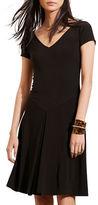 Lauren Ralph Lauren Fit-and-Flare Jersey Dress