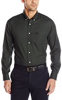 Dockers Long-Sleeve Mini-Check Button-Front Shirt