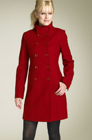 GUESS by Marciano Banded Melton Coat