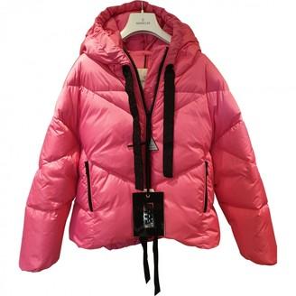 Valextra Moncler Genius Moncler n2 1952 + Pink Polyester Coats