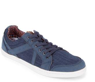 Ben Sherman Round Toe Denim Sneakers