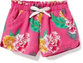Old Navy Printed Linen-Blend Shorts for Toddler Girls