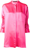 Haider Ackermann Shirt with Smocked Sleeves - women - Silk - 34