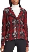 Chaps Women's Long Sleeve Sweater Jacket