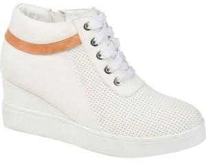 Journee Collection Women's Ayse Sneaker Wedge Women's Shoes