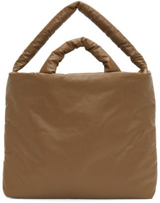 Kassl Editions Tan Large Oil Bag