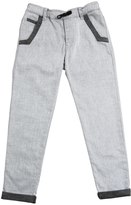 Karl Lagerfeld Stretch Cotton Gabardine Trousers