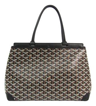 Goyard Bellechasse Black Cloth Handbags