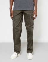 The Idle Man Green Cargo Trouser