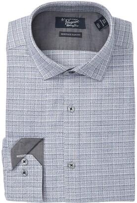 Original Penguin Heritage Slim Fit Check Dress Shirt