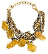 Dolce & Gabbana Multistrand Resin Station Necklace