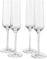 Schott Zwiesel Pure Tritan Wedding Champagne Flutes, Set of 4