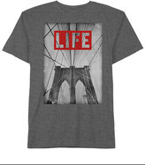 Hybrid Men's LIFE Brooklyn Graphic-Print Cotton T-Shirt