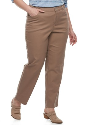 Just My Size Plus Size Comfort Stretch Straight-Leg Jeans