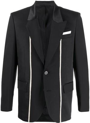 Neil Barrett Panelled Stripe Blazer