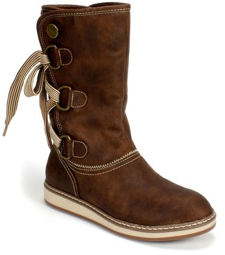 White Mountain Footwear Tivia Faux Fur Lined Boot