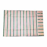 Unknown Shams Multi Colored Cotton /Polyester Waverly Striped Sham