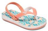 Roxy Kids' Tw Tahiti Vi Flip Flop Sandals Flat