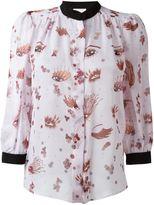 Giamba eye print blouse