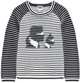 Karl Lagerfeld and Choupette Mini Me sweater