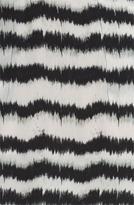 Tracy Reese Ikat Print Surplice Shirtdress