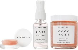Herbivore Botanicals Coco Rose Luxe Hydration Trio